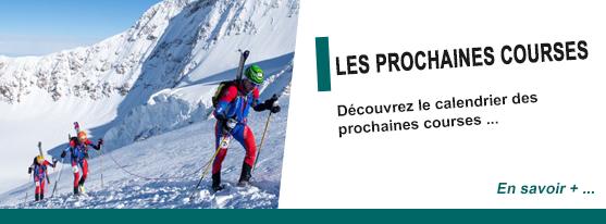 Les prochaines courses de ski d'alpinisme