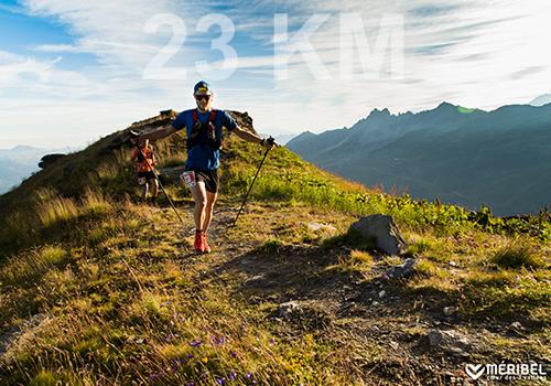 23km Méribel Trail