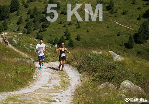 5km Méribel Trail